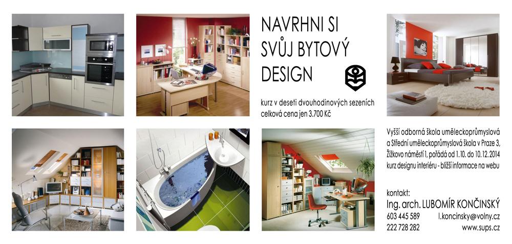 Design interiéru kurz