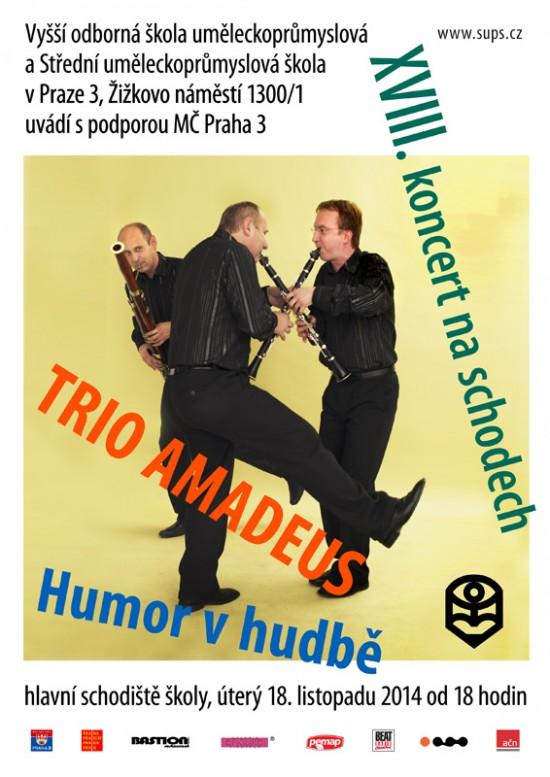 Trio Amadeus - 18. koncert na schodech