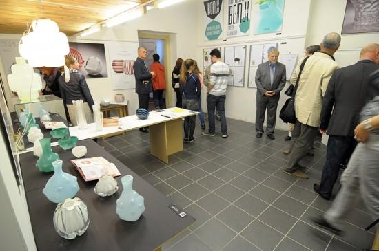 vernisáž výstavy Studentský design 2015