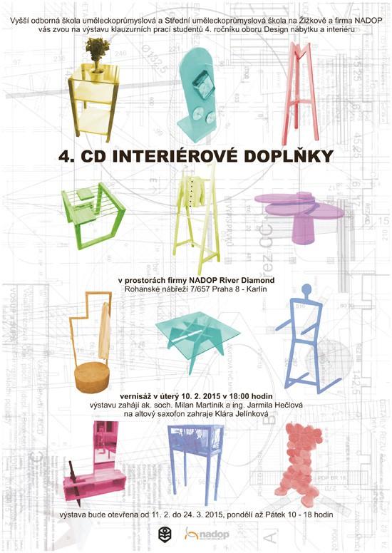 4.CD doplňky interiéru - plakát