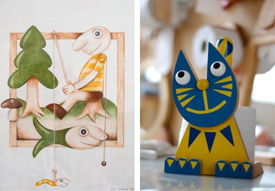 Tvorba hraček a dekorativních předmětů