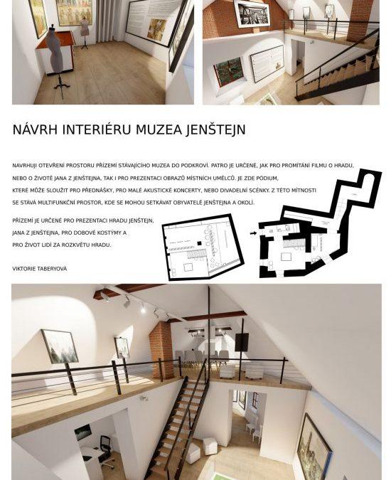 Společensko-kulturní prostor na hradě Jenštejn