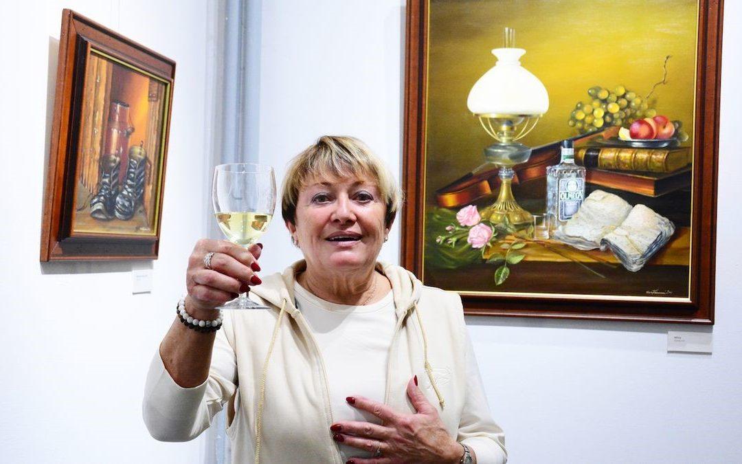 Romantická zátiší zpěvačky Vlasty Kahovcové