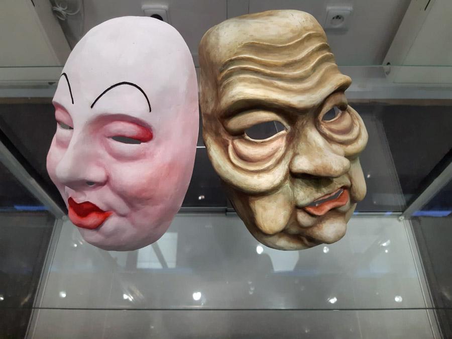Masky vZemědělském muzeu