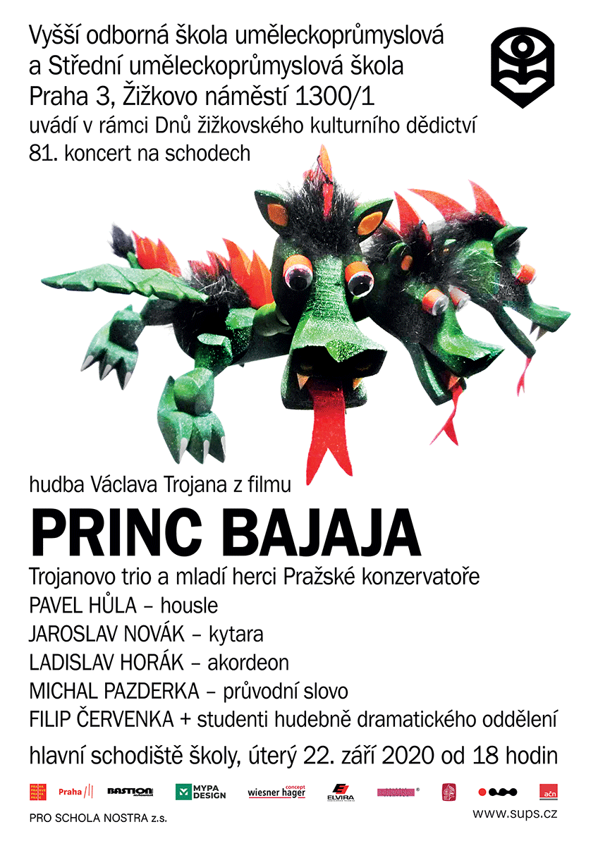 81. koncert na schodech - hudba z filmu PRinc Bajaja