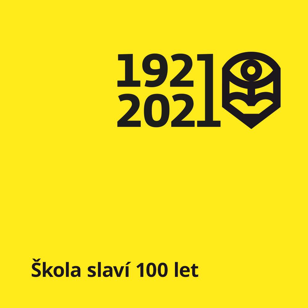 banner 100 let školy